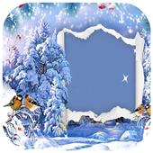 Happy Winter PhotoFrame icon