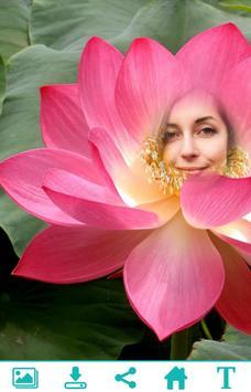 Lotus Photo Frame apk screenshot