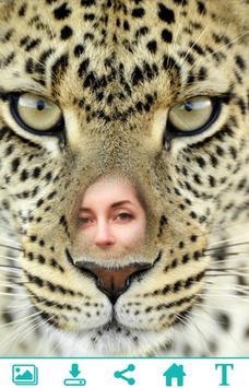 Leopard Photo Frame apk screenshot