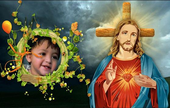 Lord Jesus Photo Frame apk screenshot