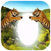 Amazing Wildlife Photo Frame icon