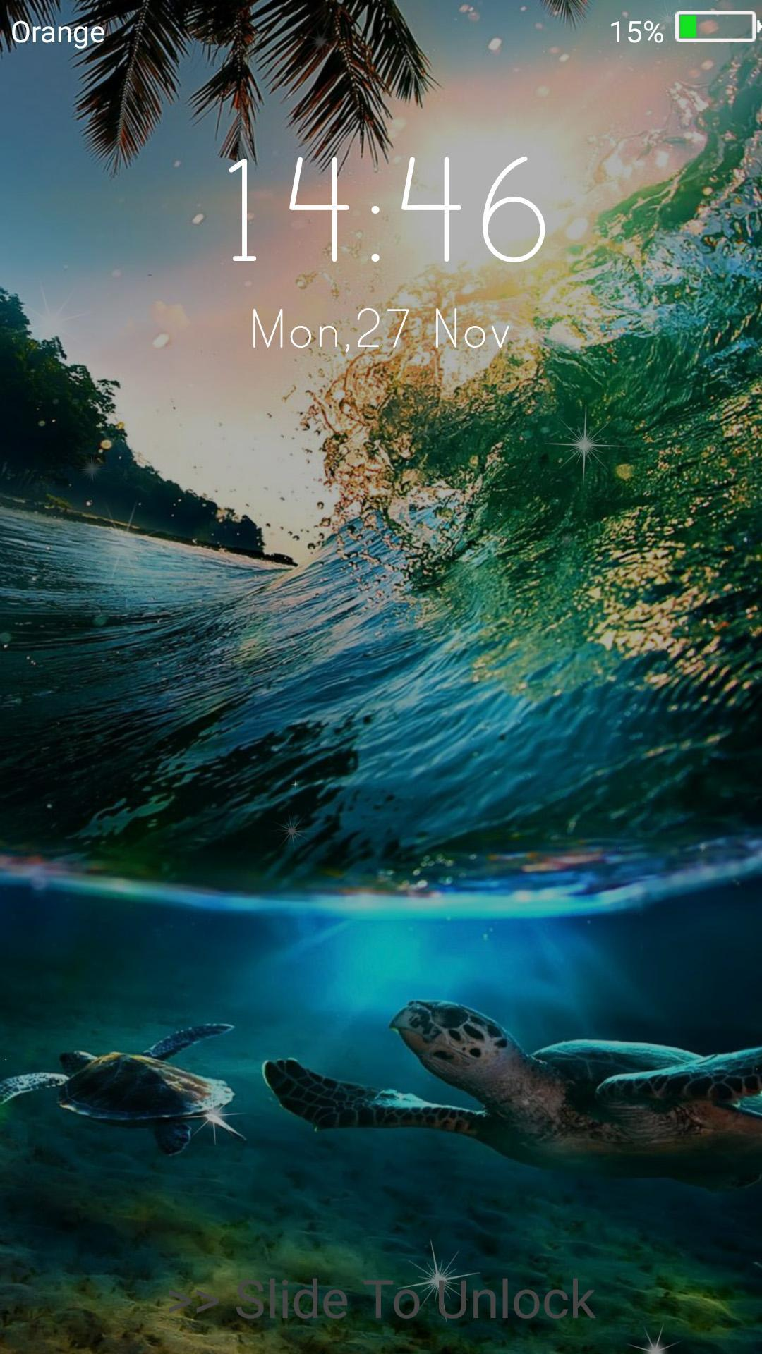 Ocean Live Wallpaper Lock Screen For Android Apk Download