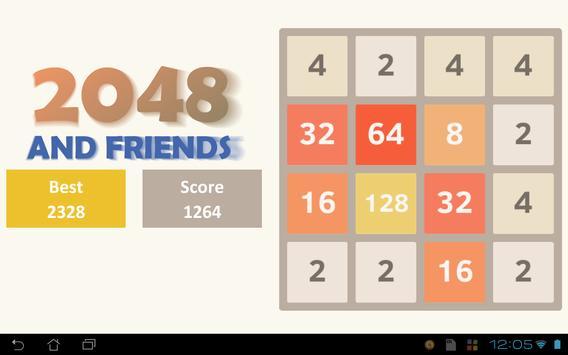2048 and Friends apk screenshot