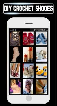 DIY Crochet Shoes Baby Booties Slippers Home Ideas poster