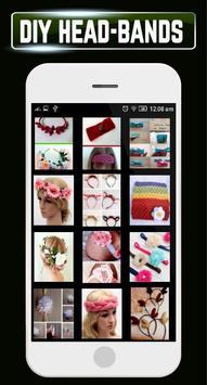 DIY Headbands Baby Flower Wedding Home Craft Ideas poster