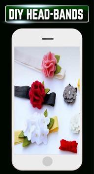 DIY Headbands Baby Flower Wedding Home Craft Ideas screenshot 7
