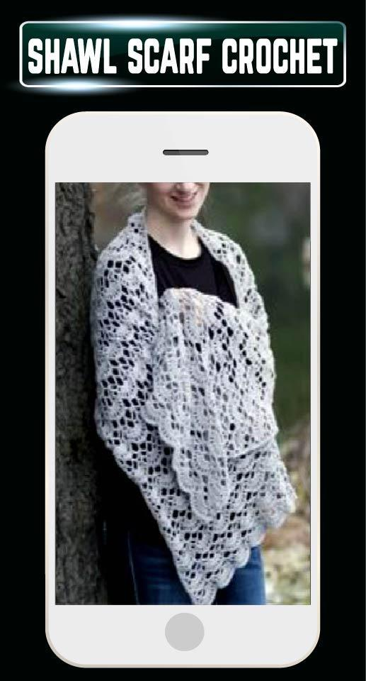 Diy Crochet Shawl Scarf Pattern Ideas Home Craft For Android Apk