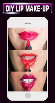 DIY Lip Makeup Girl Steps Home Idea Design Gallery apk screenshot
