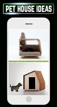 DIY Pet House Dog Cat Home Ideas Designs Gallery apk screenshot