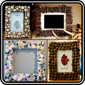 DIY Photo Frame Making Recycled Home Ideas Designs icon