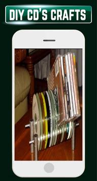 DIY Recycled CDs Craft Ideas Steps Designs Gallery screenshot 5