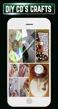 DIY Recycled CDs Craft Ideas Steps Designs Gallery screenshot 2