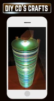 DIY Recycled CDs Craft Ideas Steps Designs Gallery screenshot 3