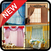 Morden Home Room Curtains Designs Idea DIY Gallery icon