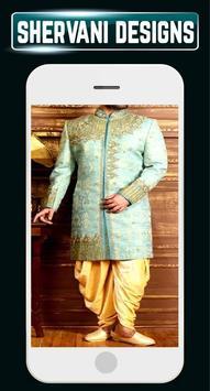 Indain Sherwani Design Groom Wedding Mensuits Idea screenshot 2
