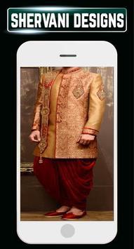 Indain Sherwani Design Groom Wedding Mensuits Idea screenshot 3