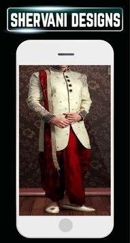 Indain Sherwani Design Groom Wedding Mensuits Idea screenshot 6