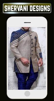 Indain Sherwani Design Groom Wedding Mensuits Idea screenshot 7