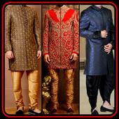 Men's Indowestern Design Wedding Suit Indain Home icon