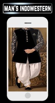 Men's Indowestern Design Wedding Suit Indain Home apk screenshot