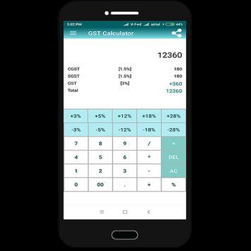 GST Calculator screenshot 2