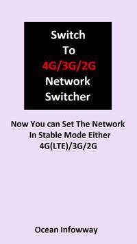 4G VoLTE Network Switcher poster