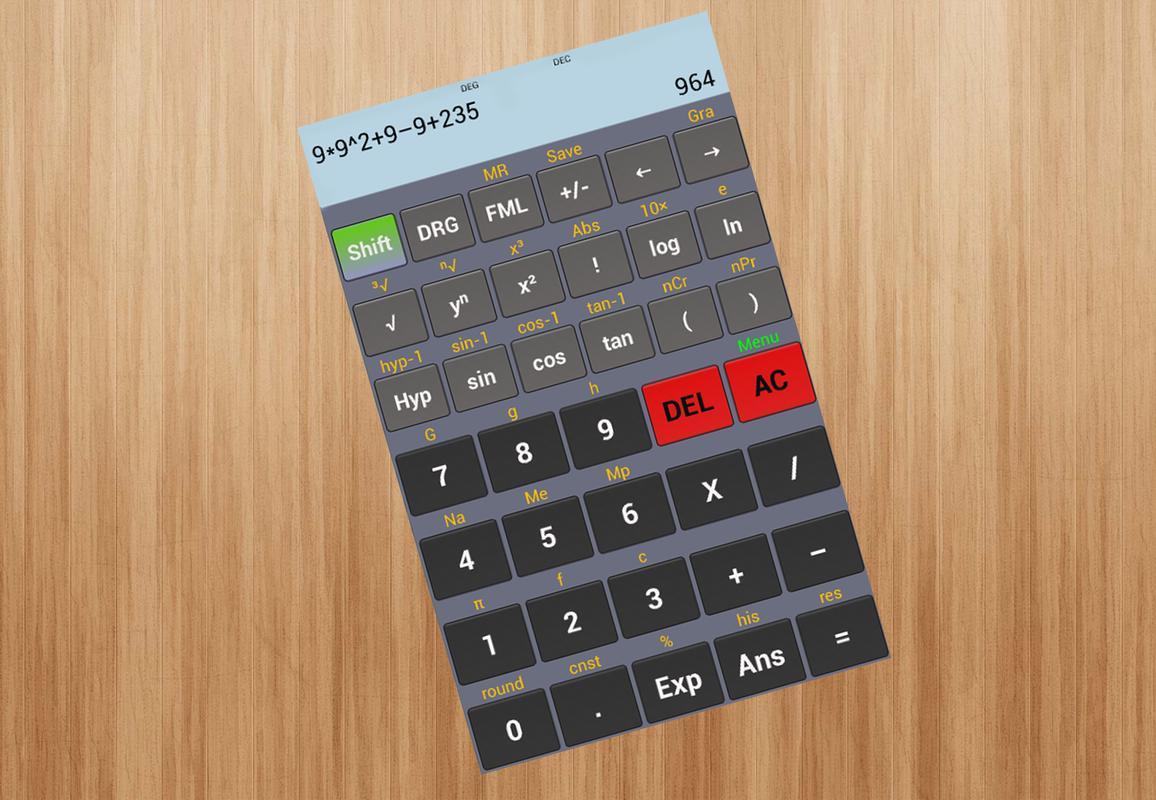 casio scientific calculator app for android