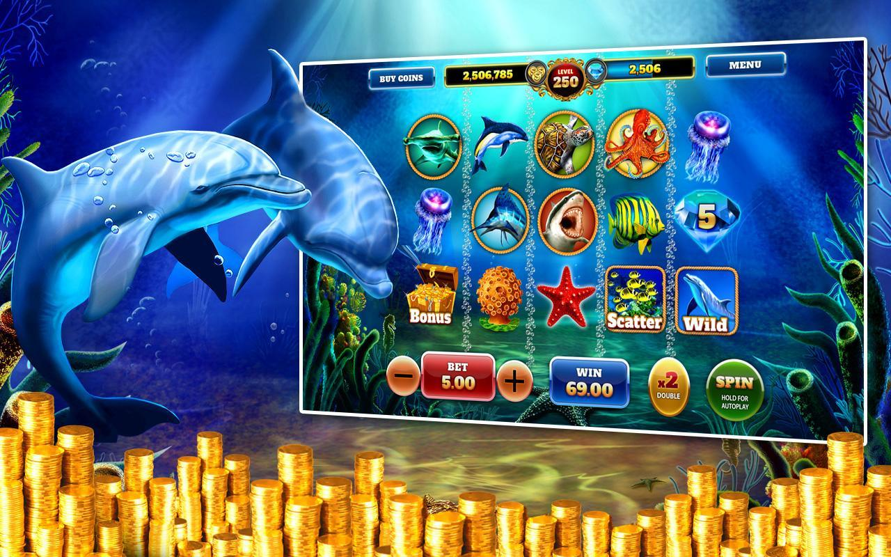 Dolphin S Treasures Free Slots For Android Apk Download