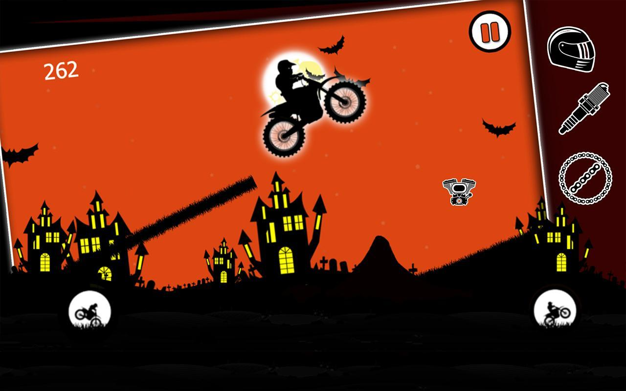 free moto racer halloween town for android - apk download
