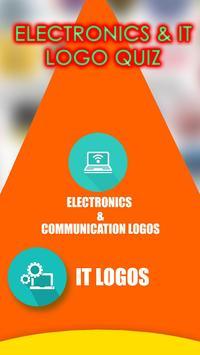 Electronic & IT logo quiz poster