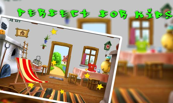 Sweet baby Dream House Puzzle screenshot 2