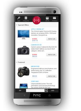 Android Store (for Opencart) apk screenshot