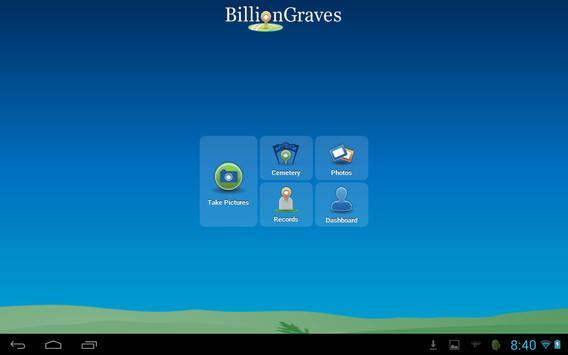 BillionGraves apk screenshot