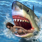 Hungry shark Attack 3D icon