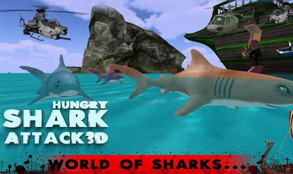 Hungry shark Attack 3D apk screenshot