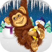 Monkey adventure 3D icon
