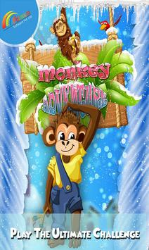 Monkey adventure 3D poster