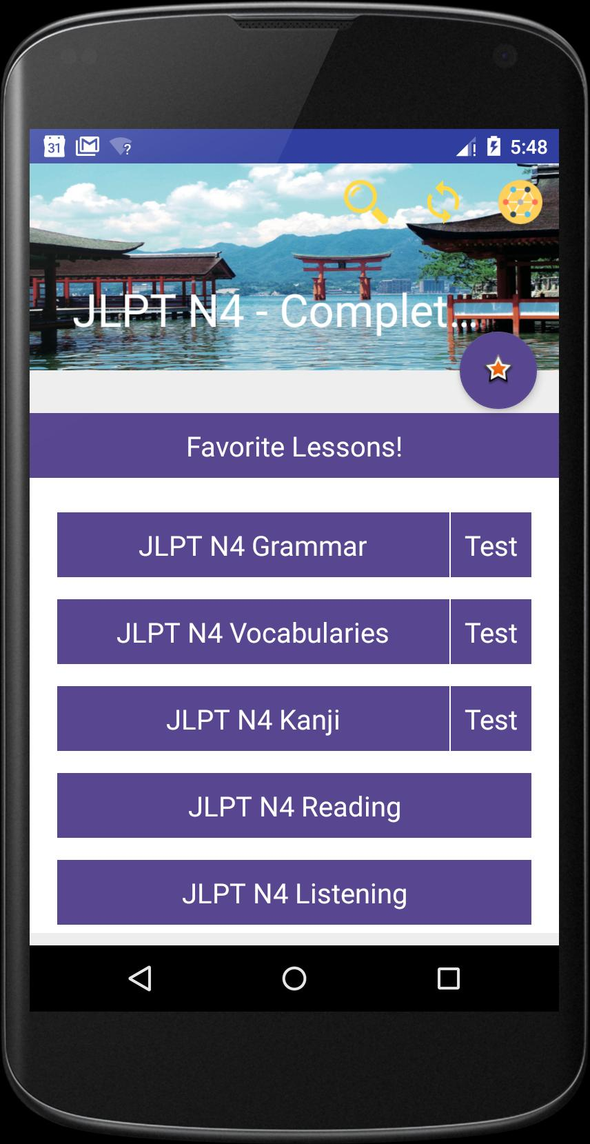JLPT N4 - Complete Lessons for Android - APK Download