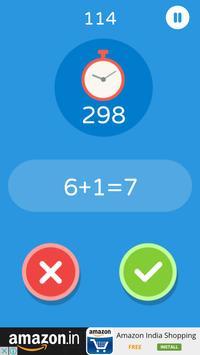 Fast Math Practice screenshot 1