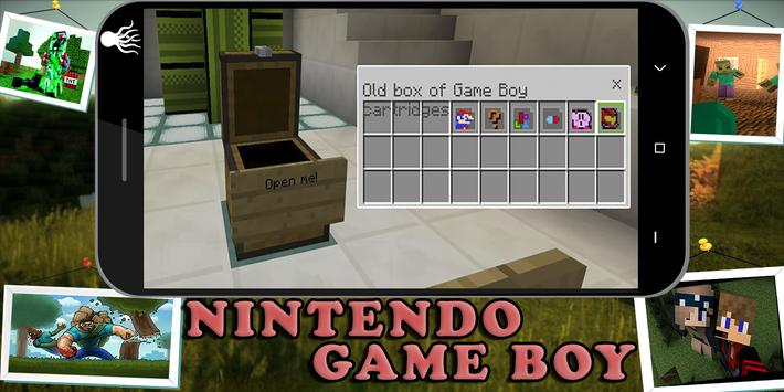 Mod Working Nintendo-Game Boy fro MCPE 1 0 (Android