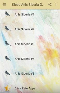Kicau Anis Siberia Gacor Juara screenshot 1