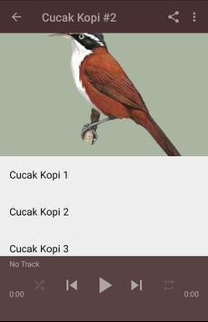 Kicau Cucak Kopi Gacor Pikat screenshot 3