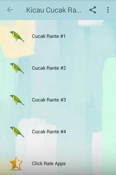 Kicau Cucak Rante Gacor Juara screenshot 1