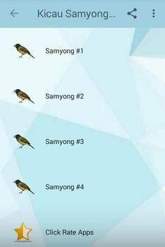Kicau Samyong Gacor Prestasi screenshot 1