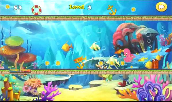 Sea Octopus Run Adventure apk screenshot