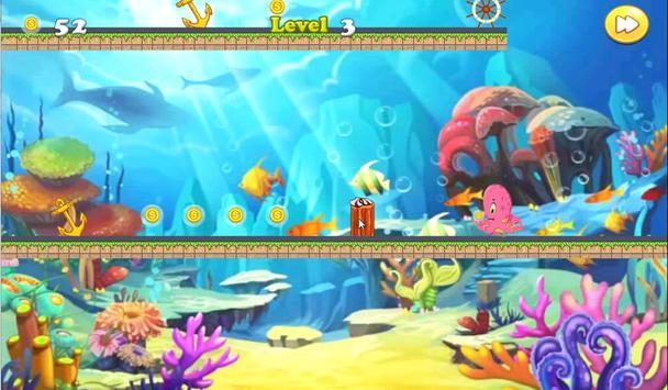 Sea Octopus Run Adventure screenshot 3