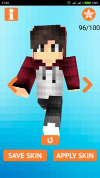 Cool Boy Skins for Minecraft screenshot 9