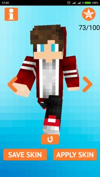 Cool Boy Skins for Minecraft screenshot 1