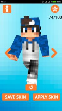 Cool Boy Skins for Minecraft screenshot 2
