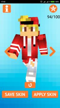 Cool Boy Skins for Minecraft screenshot 3